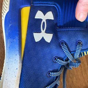 Under Armour Blue UA SC 3Zero Sneakers